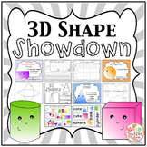 3D Shape SHOWDOWN! {3D Shape Activities, Geometry}