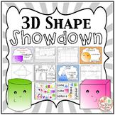 3D Shape SHOWDOWN! {3D Shape Activities, Geometry}