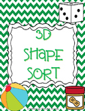 3D Shape Sort