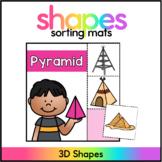 3D Shape Sort - 3D Shape Center