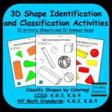 3D Shape Sorting by Attributes - Color to Identify and Classify 3D Shapes - PDF