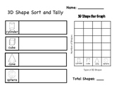 3D Shape Tally and Graph