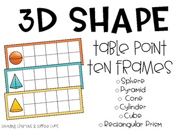 3D Shape Team Points