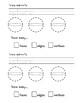 3D Shapes Worksheet Pack Grade 1 Common Core Aligned