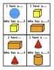 3D Shape Worksheets