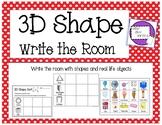 3D Shape Write the Room