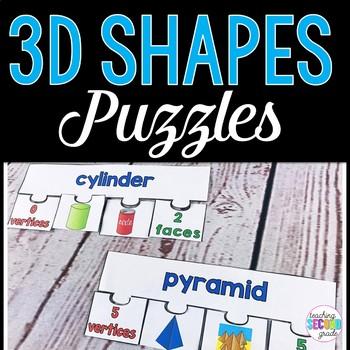 3D Shapes Puzzles