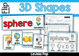 3D Shapes Flip Books