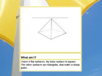 3D Shapes 3rd Grade