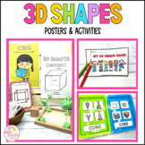 3D Shapes Objects Activities and Posters