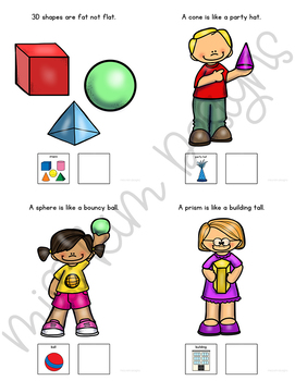 3D Shapes Are Everywhere: Adapted Book for Students with Autism & Special Needs