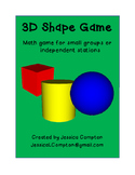 3D Shapes Board Game