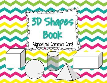 3D Shapes Book {Common Core}