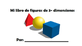 3D Shapes Book- SPANISH ONLY