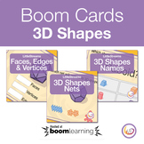 3D Shapes Boom Cards Internet Activity