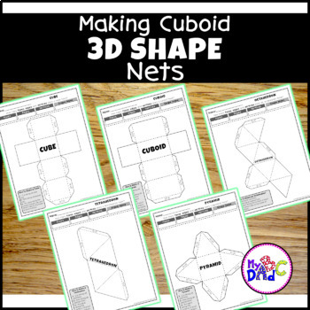 Build 3D Shapes & Learn - Cubes|Cuboids|Tetrahedrons|Pyramids|Octahedrons