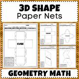 Build 3D Shapes & Learn - Cubes|Cuboids|Tetrahedrons|Pyramids|Octahedrons