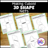 3D Shapes Distance Learning Activities