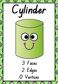 3D Shapes Bundle QLD Beginners Font: Worksheets, Posters, Playdough Mats