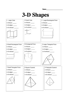 3D Shapes Center
