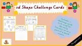 3D Shapes Challenge Cards