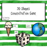 3D Shapes Concentration