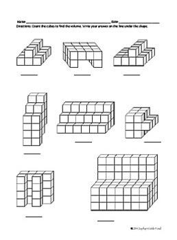 3D Shapes - Cubes {Math Task Cards}