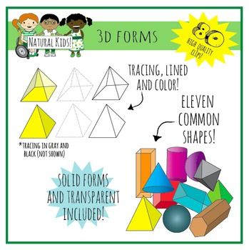 3D Forms / Shapes Deluxe Pack (Commercial Use)