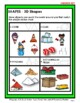 3D Shapes - Draw Objects to Match the 3D Shapes - Grades 2