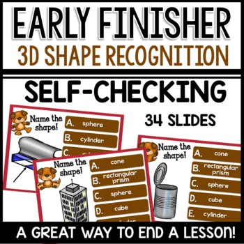 3D Shapes (Early Finisher PPT)