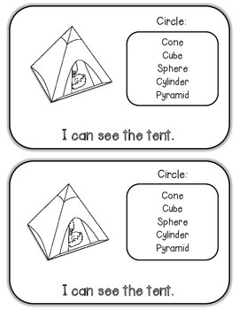 3D Shapes {Emergent Reader}