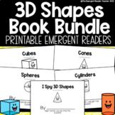 3D Shapes Emergent Reader Book Bundle
