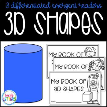 3D Shapes Emergent Readers