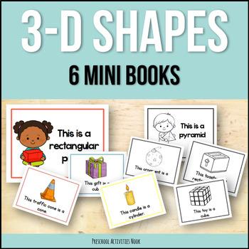 3D Shapes: Emergent Readers (Geometric Solids)