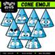 Math 3D Shapes Emoji Clip Arts COLOSSAL Bundle