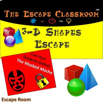 3D Shapes Escape Room | The Escape Classroom