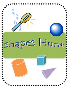 3D Shapes Find for Home and School
