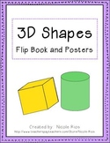 3D Shapes Flip Book and Posters