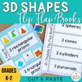 3D Shapes Flip Flap Books