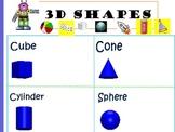 3D Shapes Flipchart