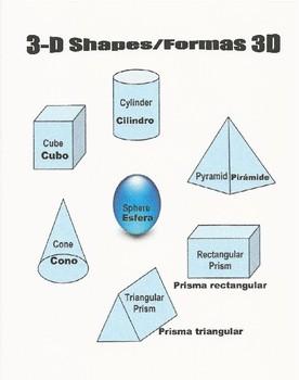 3D Shapes-Formas 3D