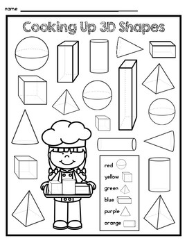 3D Shapes Fun Pack