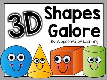 3D Shapes Galore!
