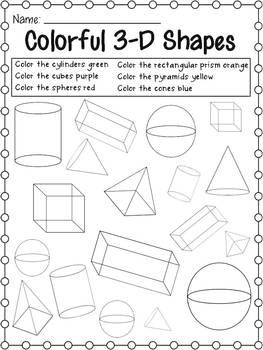 3D Shapes Galore
