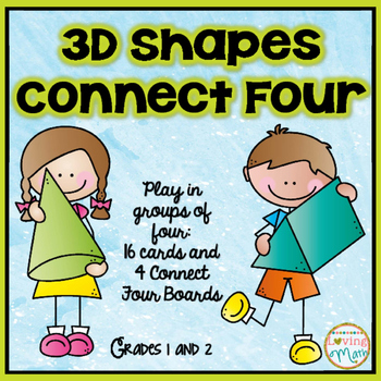 3D Shapes Game - Connect Four Center Game