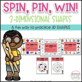 3D Shapes Game ~ Spin, Pin, Win!