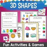 3D Shapes Games