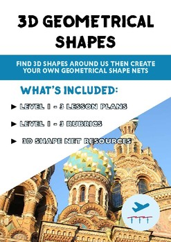 3D Shapes - Geometery In Everyday Items