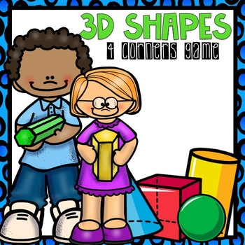3D Shapes Geometry 4 Corners Game