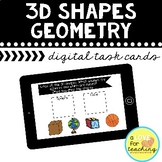 3D Shapes Geometry Boom Cards {Distance Learning}